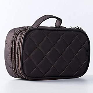 Cosmetic Makeup Bag & Organizer Double Layer Travel Toiletry Bag Organizer