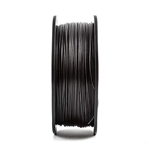 3D Printer Filament 1.75mm, PLA Carbon Fiber Filament, Added Carbon Fiber Powder, Incredibly High Strength-Carbon black 5kg