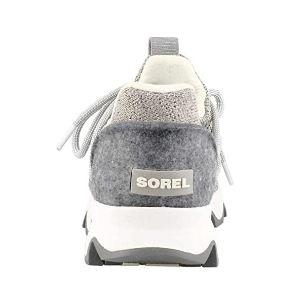 Sorel – Women's Kinetic Lace, Knit Sneaker with Scalloped Sole and Laces