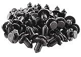 WINOMO Remache de Plastico Tipo de Empuje para Guardabarros de Coche 10mm 91503-SZ3-003 - 100 Piezas