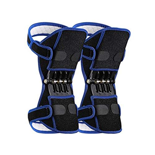 Rebound Spring Force Power Enhancer Leg Knee Booster Brace Cover Joint Support for Knee Patella Climbing Men and Women Power Knee Stabilizer Pads