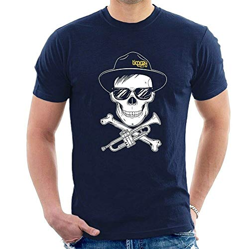 Bye-2 Timmy Trumpet Skull T-Shirt Electro House DJ A54
