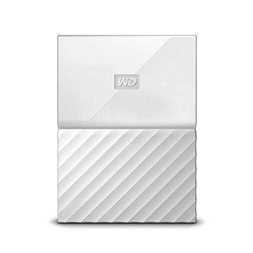 WD My Passport Mobile WDBYFT0020BWT-WESN 2TB  Externe Festplatte (6,4 cm (2,5 Zoll), mit Kennwortschutz, Standard Oberfläche) Weiß