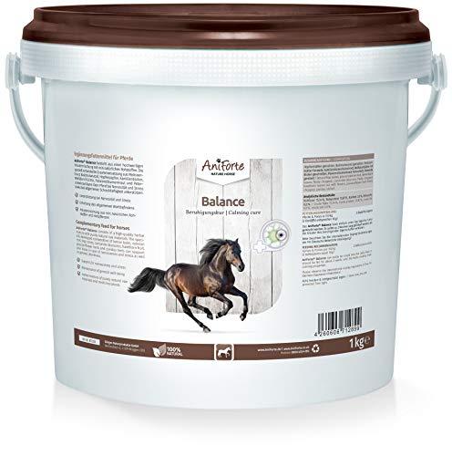AniForte Balance Beruhigungskur für Pferde 1kg - natürliche Beruhigung bei Stress, Nervosität & Schreckhaftigkeit, zur Entspannung, gegen Unruhe, Naturprodukt
