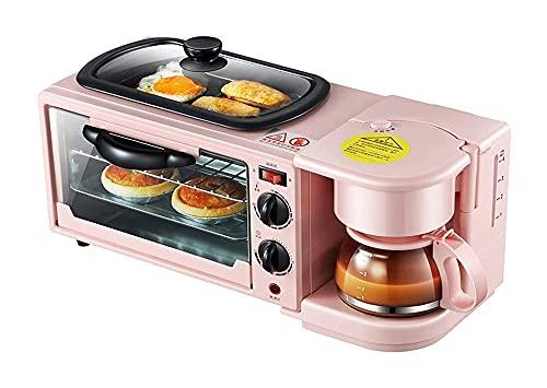 GDYJP Máquina de Pan Máquina de Pan Rebanada doméstica Máquina de Desayuno multifunción Máquina de Huevo Frito Pequeña tostadora Calefacción Milk/tostadora de café
