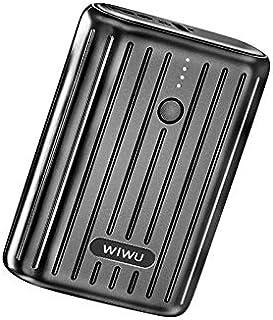 WIWU Remova 10000mAh Mini Power Bank, Black