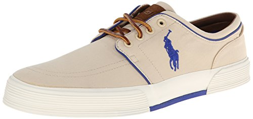 Polo Ralph Lauren Mens Faxon Low Khaki Sneaker - 8.5