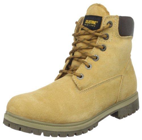 Wolverine Men's Waterproof Insulated 6' Work Boot (7 W in Gold)