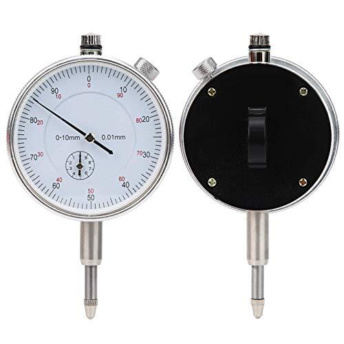 Indicador de dial de precisión de buena calidad, esfera blanca, 0 – 10 mm 0,01 mm de precisión de marcado digital de prueba indicadores de indicador electrónico