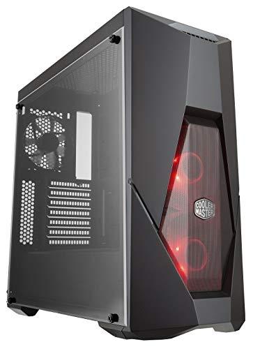 Cooler Master MasterBox K500L - Case PC ATX con Pannello Parzialmente Meshato, 2 x 120mm Ventole Preinstallate, Pannello Laterale Trasparente, Configurazioni Flessibili Flusso Aria