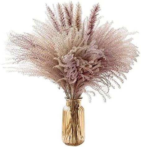 AriesDCHAT 60cm Real Wheat New product! New type Natural PhragmitesReed Washington Mall FlowersBulru