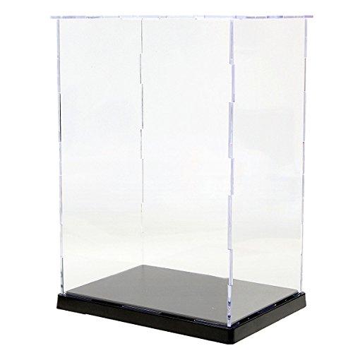 MASUNN 19x14x26.5cm transparant acryl display vitrine doos plastic stofdichte bescherming lade