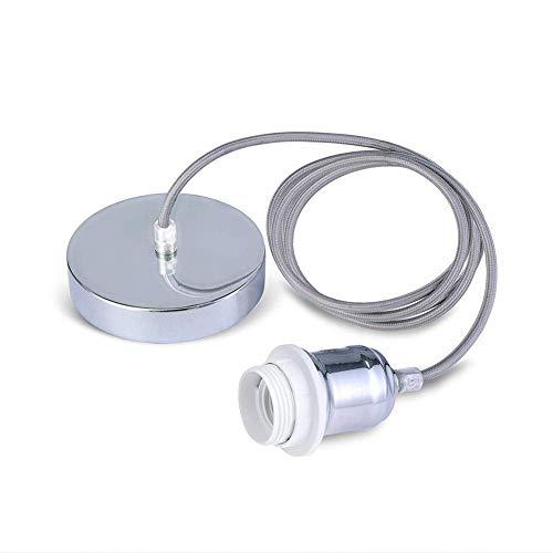 Fitting met gevlochten en flexibele kabel, hanglampenset, fitting