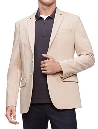 7. Calvin Klein Men's Move 365 Casual Wrinkle-Resistant Tech Woven Blazer