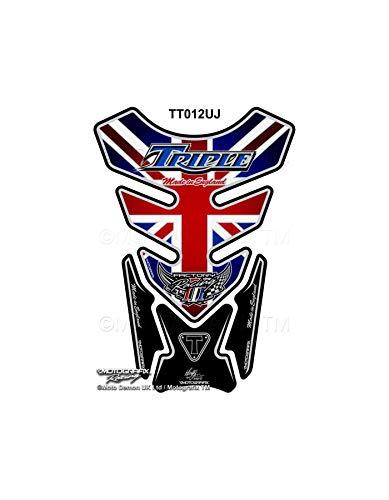MOTOGRAFIX Triumph Speed Street Triple Union Jack Universale Serbatoio Pad Protector