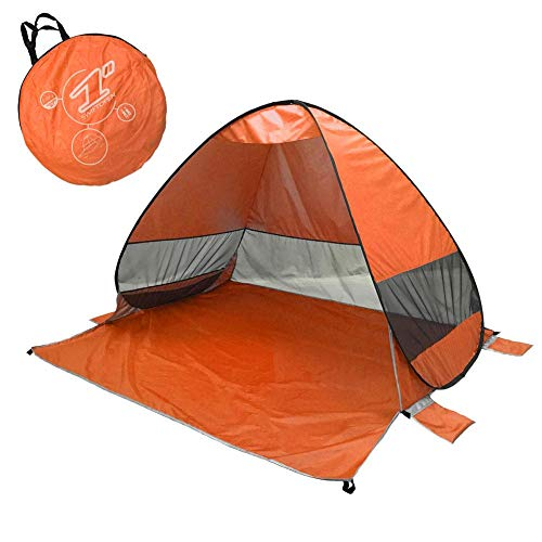 Briskay 2 Seconds Fully Automatic Pop Up Mosquito Tent for Beach and Shade with Quick Release - Portable Outdoor Activities - Travel to the Beach