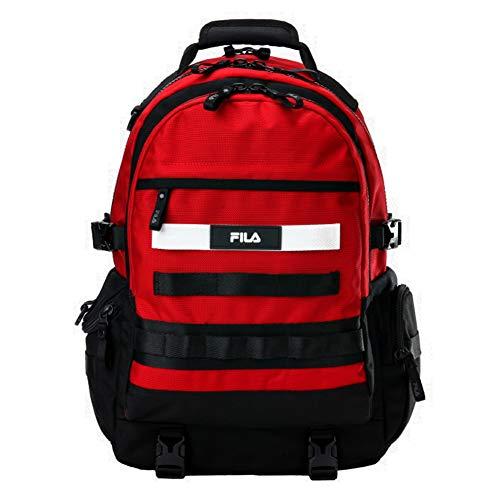 [フィラ] FILA FORCE BACKPACK Dark Red FS3BPA5001X フォース バックパック ダークレッド 大容量 リュックサック [並行輸入品]