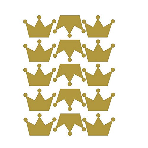 BianchiPamela Creative Princess Crown Wall Sticker Cute Beautiful Home Decoration
