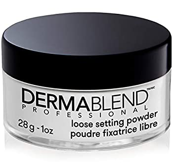 Dermablend Loose Setting Powder Translucent Powder for Face Makeup Mattifying Finish and Shine Control 1oz