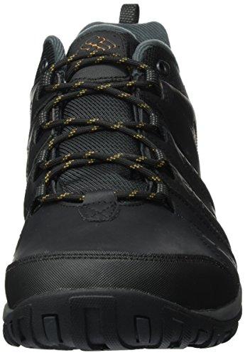 Columbia Woodburn II, Zapatillas Hombre, Negro (Black Caramel), 42.5 EU
