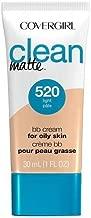 Cg Cln Matte Bb Crm Light Size 1z Covergirl Clean Matte Bb Cream Light 1z