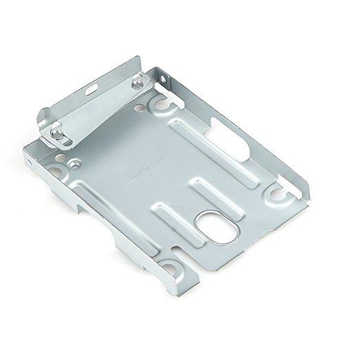 Demiawaking Supporto di Montaggio in Metallo per 2.5'' HDD Disco Rigido Super Slim + Viti per Sony PS3