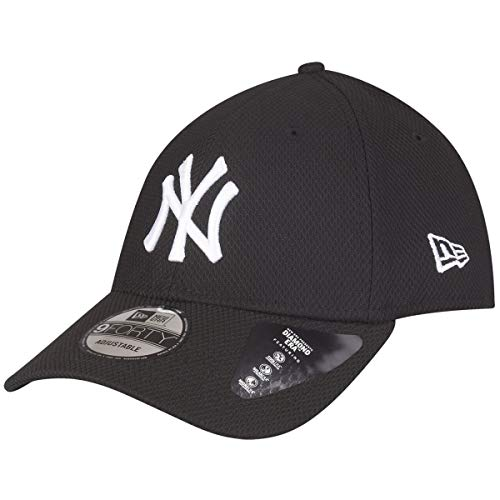 A NEW ERA Gorra 9Forty MLB York Yankees Diamond Negro/Blanco Talla: Ajustable