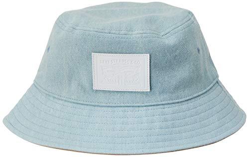 Levis Footwear and Accessories Herren Bucket Hat - Denim Reversible Fischerhut, Blau (Light Blue 13), Large