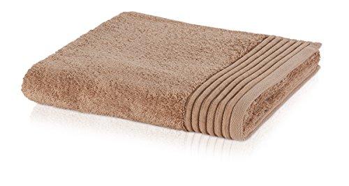 möve Loft serviette de toilette 30 x 50 cm en 100% coton (Spinair), wood