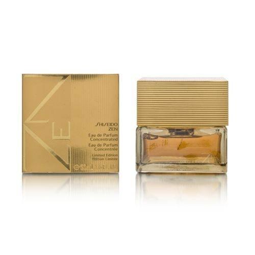 Shiseido Zen Women, Eau de Parfum Concentrated (Gold Limited Edition), 1er Pack (1 x 50 ml)