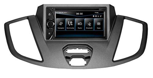ESX | Ford Transit | 2-DIN Autoradio mit Navigation | VNC6311D inkl. iGO Camper & Truck Navigationssoftware