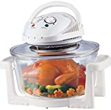 Flavor Wave Halogen Oven/Grill/Air Fryer/Infrared Convection; 12 liters [Introductory Offer], (RED, White) Random.
