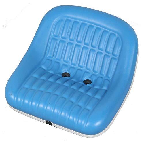 KLARA SEATS KS 4601 PVC Sitz für Traktoren und Schlepper, passend für Ford und New Holland Traktoren, blau