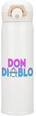 Don Diablo オランダのDJデビル 2 水筒 魔法瓶 ステンレスボトル 500ml 真空断熱 保温コップ 保冷コップ 最大24時間保温