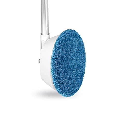 Varadyle Fattore di Pulizia per Lavavetri Senza Fili Elettrico Automatico, Asta Telescopica Flessibile da 145 Cm, Salva Manodopera, Spazzatrice, Blu