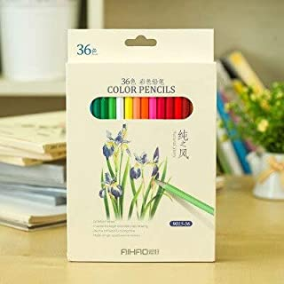 Colored Pencils - Nature story color pencils 36 colored pencil Drawing painting pastille Stationery school supplies lapice...