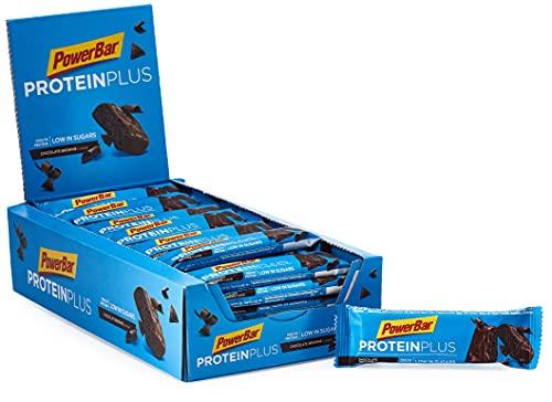 Powerbar 21508442 Protein Plus Low Sugar Chocolate Brownie - Poco Zucchero e Alto Contenuto di Proteine - 1 kg