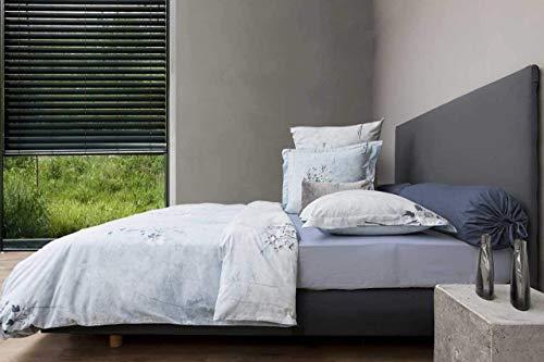 Heckett Lane Twill sängkläder Ostana 155 x 220 (80 x 80) ljusblå