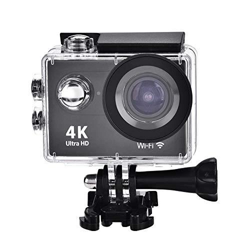 Sportcamera, 4K/30FPS, waterdichte 2,0 inch ultra-HD-1080P WiFi DV-action camcorder met een groot aantal cameraaccessoires, 170 graden groothoek, geen spannend moment meer missen.