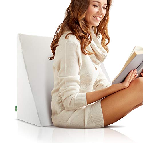 DYNMC you Rückenkissen Bett und Sofa als Bequemes Lesekissen mit Oeko TEX Qualität - Keilkissen Bett & Keilkissen Sofa