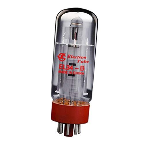 gazechimp 2er Pack EL34 Elektronenröhre Vakuumröhre Elektronenvakuumröhre, aus Metall & Glas
