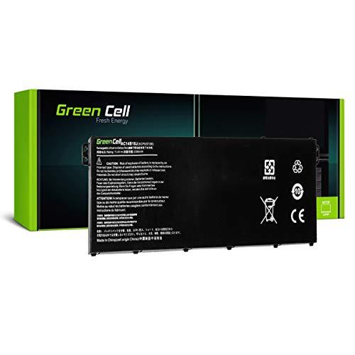 Green Cell Akku für Acer Aspire ES 13 ES1-331-C8XF ES1-331-C985 ES1-331-C9LG ES1-331-P05L ES1-331-P345 ES1-331-P3A5 ES1-331-P3ZE ES1-331-P4C1 Laptop (2100mAh 11.4V Schwarz)