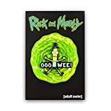 Enamel Pin   Rick and Morty Lapel, Jacket, Backpack Pins, Mr. Poopybutthole