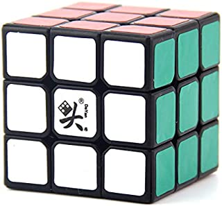 DaYan ZhanChi 3x3x3 42mm Magic Cube Speed Competition Puzzle Cube for Children Adults Color Black