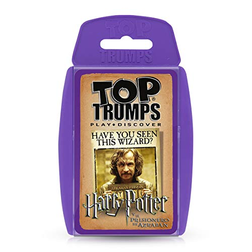 Top Trumps Harry Potter Y El Prisionero de Azkaban, color morado (ELEVEN FORCE 1)