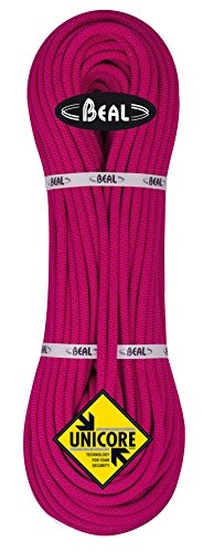 Beal C094.80 - Cuerda de escalada, color blanco (fuchsia), talla 9,4 mm...