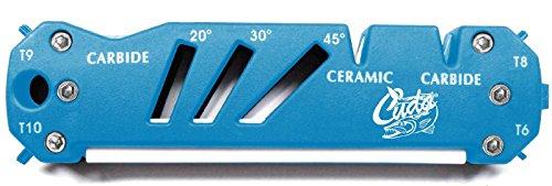 Cuda Scherper voor messen, scharen, vishaken, keramiek, carbide, 4 torx-schroevendraaiers, 1 platte schroevendraaier
