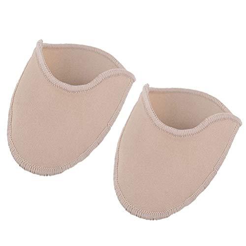 Healifty Fußpflege Zehenschutz Einlegesohlen Halbpolster Bezüge Zehenschutztaschen