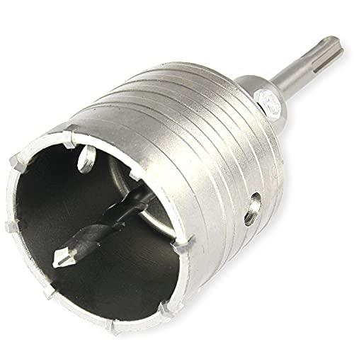 Vindor Tools Bohrkrone – Ø 68 mm Hohlbohrkrone mit SDS Adapter inkl. Zentrierbohrer für Mauerwerk und Beton