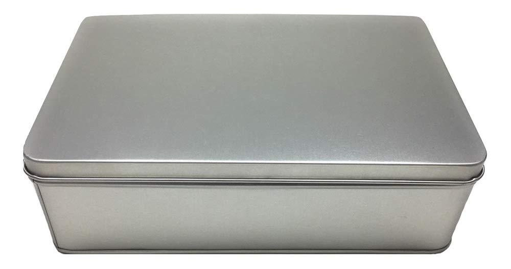 Balna - Caja de Metal para Galletas, 1 Unidad, Rectangular ...